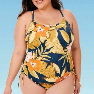 NWT Beach Betty Tropical One Piece swimsuit